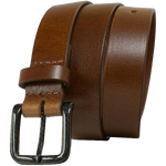 The Specialist Brown Belt by Nickel Smart - carbonfiberbelts.com, no metal, lightweight