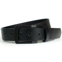 Load image into Gallery viewer, No more security clearance worries with The Stealth Black Belt - zero metal means zero beeps