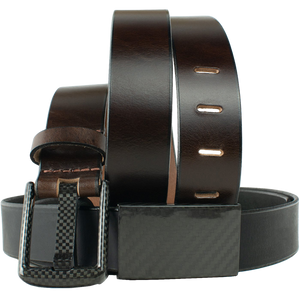Zero Metal Belt Duo by Nickel Smart - carbonfiberbelts.com, no metal, lightweight, TSA friendly
