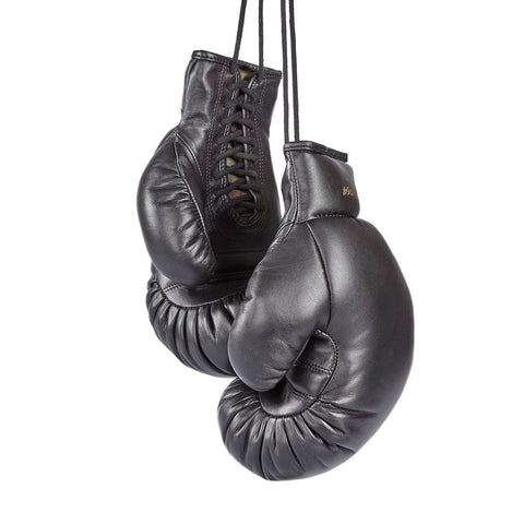 Limited Edition Old-School Boxing Gloves Tokyo 1964 Black by Ultimatum Boxing