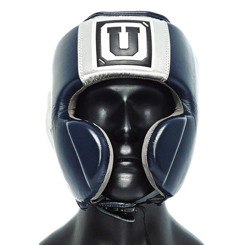 Ultimatum Boxing Professional Mexican Style Headgear Gen3Mex Navy