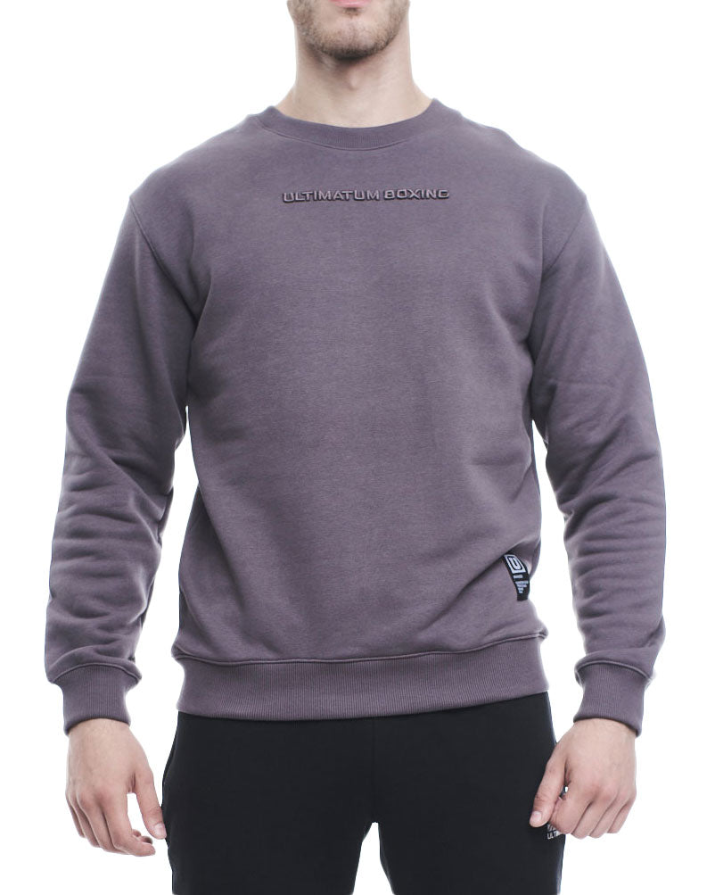 Ultimatum Boxing Sweatshirt U-CITY BL GREY