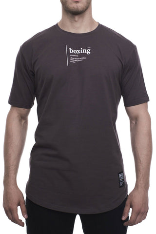 Ultimatum Boxing T-Shirt WIB Tee Grey