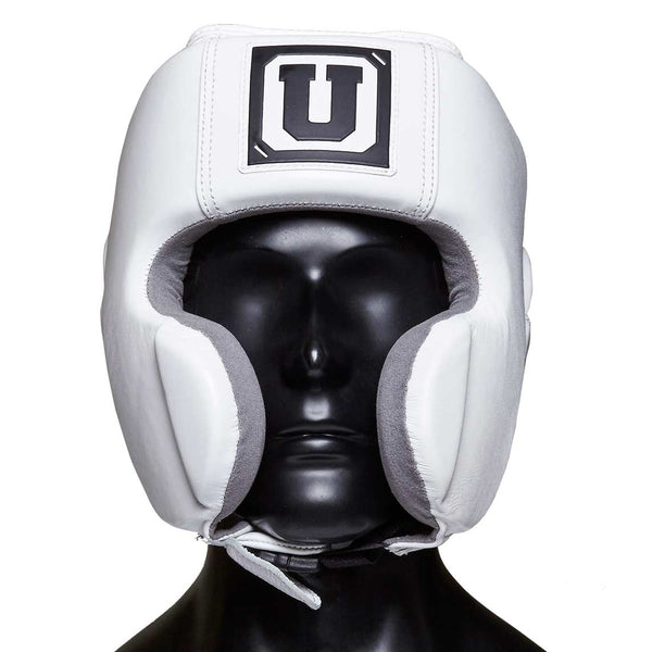 Ultimatum Boxing Professional Mexican Style Headgear Gen3Mex White