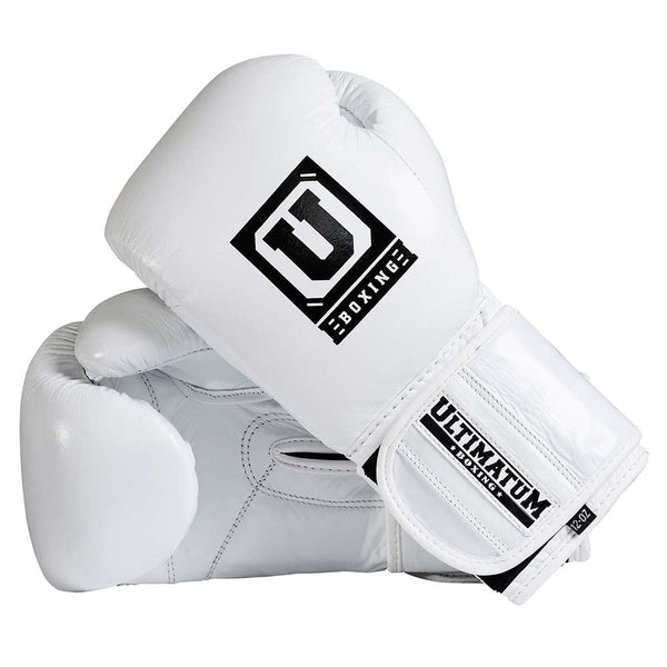 Ultimatum Boxing Professional Training Gloves Gen3Pro WhiteForce