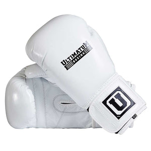 Ultimatum Boxing Professional Sparring Gloves Gen3Spar White
