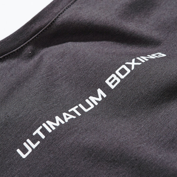 Ultimatum Boxing Tank Top A2B Muscle Tank Grey