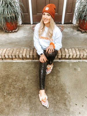 Leopard Shine Leggings