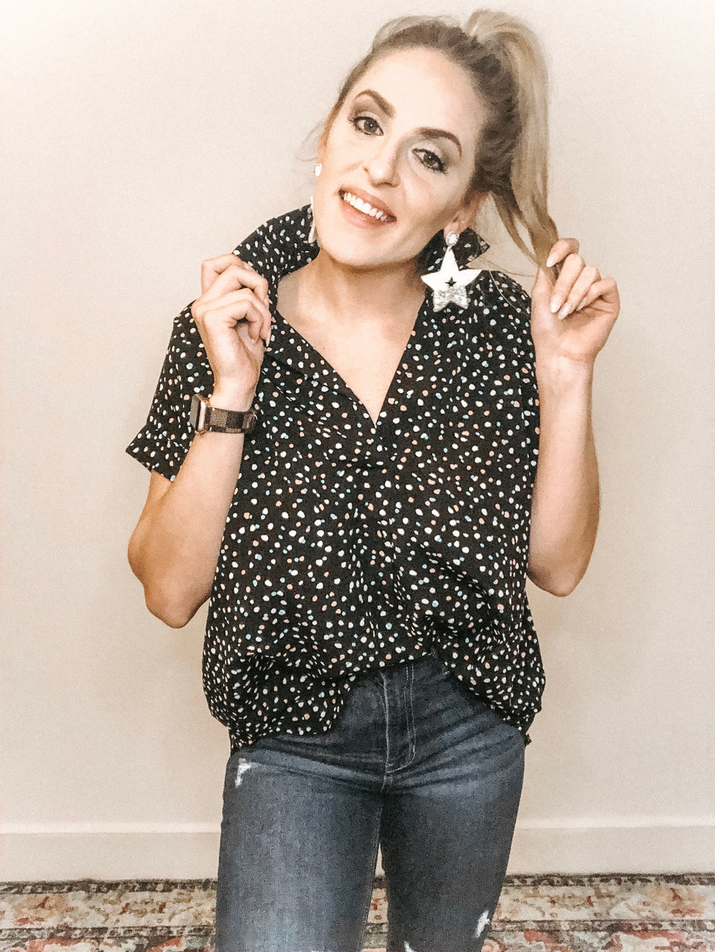 Cosmic Dots Top