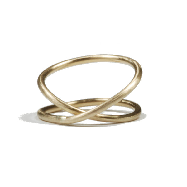 Twisted Together Ring