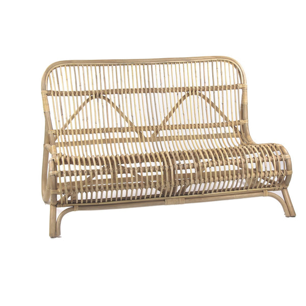 Rattan Slope Bench