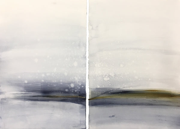 Blue Tide Diptych