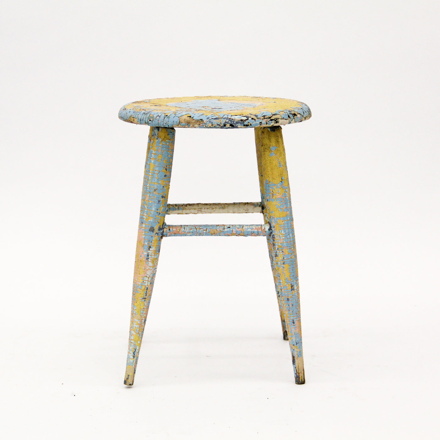 Vintage Painted Stool