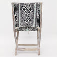 Patterned Folding Chair