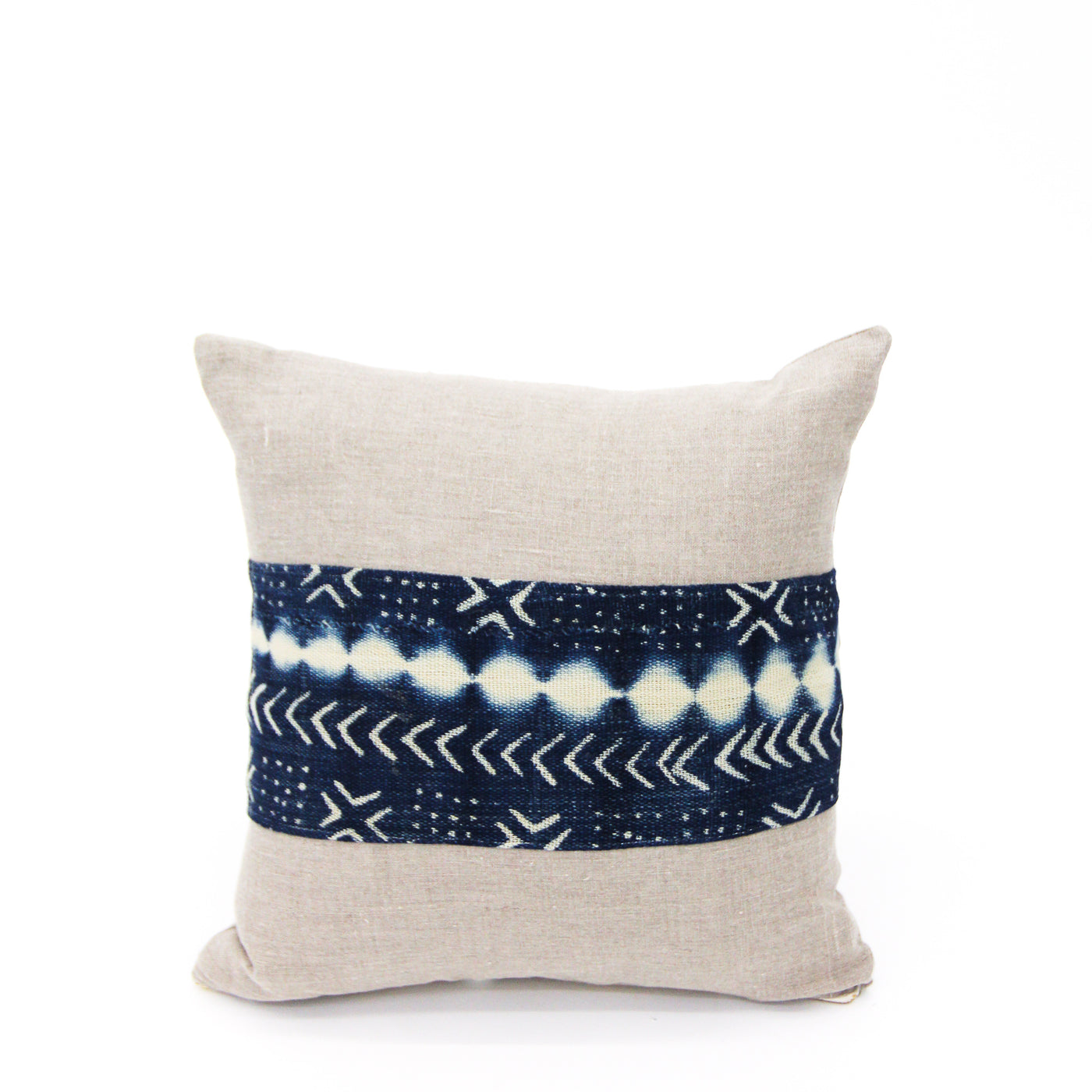 Indigo Strip Pillow