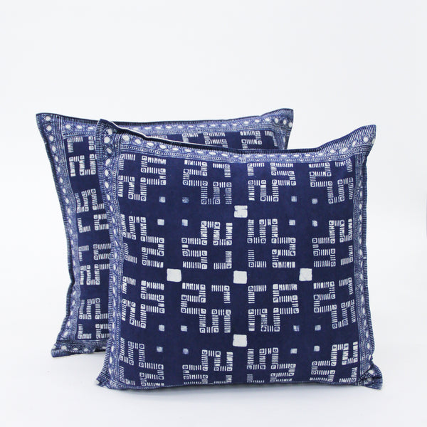 Tetrava Indigo Pillow