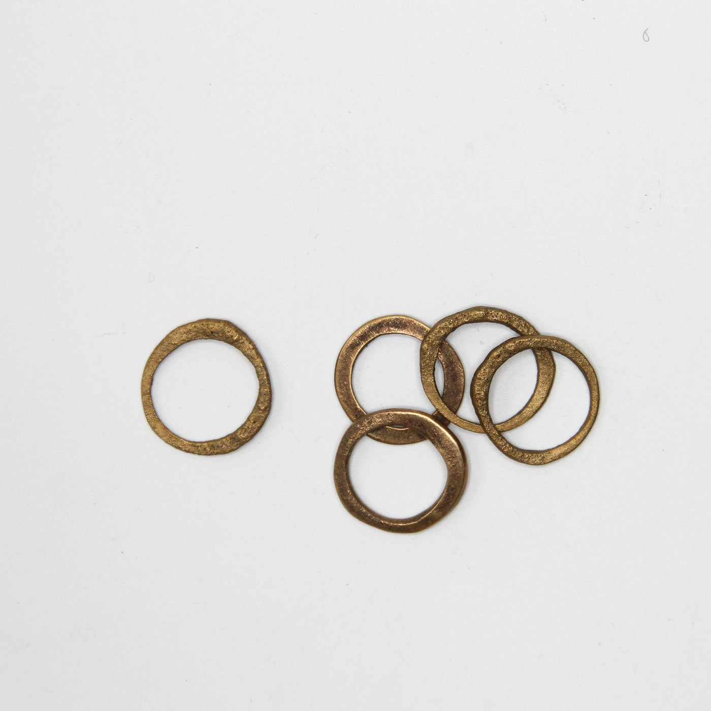 Brass Coin Ring