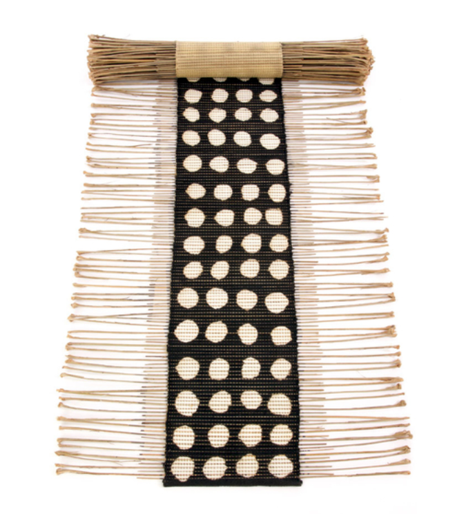 Polka Dot Twig Table Runner