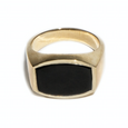 Black Onyx Archie Ring