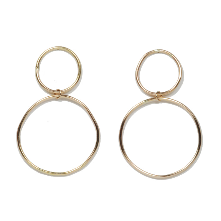 Gyre Hoop Earrings