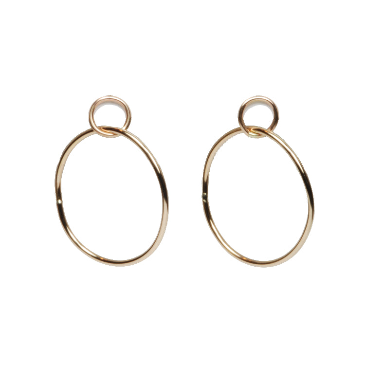 Sling Hoop Earrings