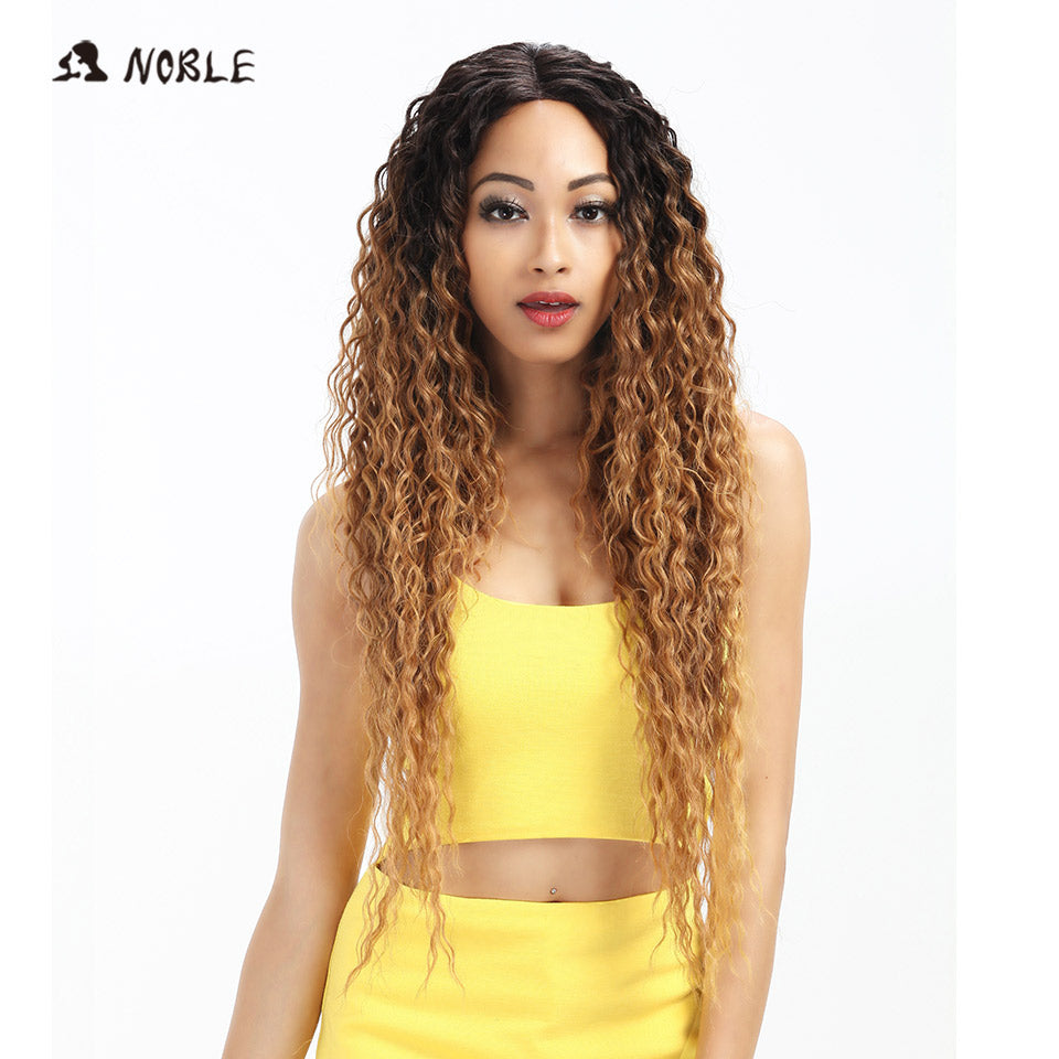Noble Hair Lace Front Ombre Blonde Wig