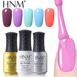 HNM 8ml UV Gel Nail Polish Pure Color Nail Gel Lacquer Lucky Gel Polish Soak Off Lucky Lacquer Gelpolish Nail Gel Long Lasting