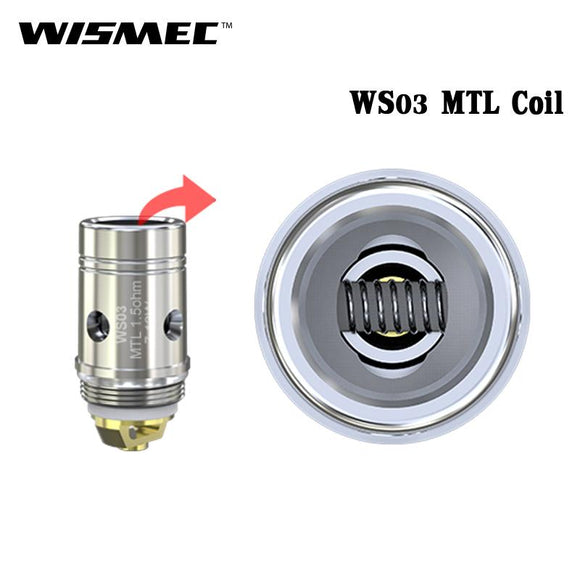 5pcs WS03 MTL 1.5 ohm Head Replacement Coil