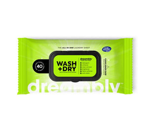 Dreambly Wash+Dry Sheets  2-Pack (40ct)
