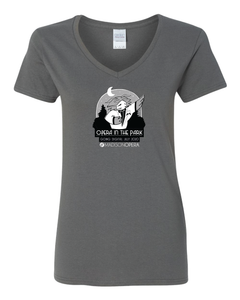 Madison Opera in the Park, Women's V-neck Tee