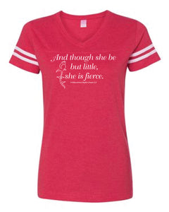 And Though She Be But Little, She Be Fierce, Shakespeare Toddler Tees