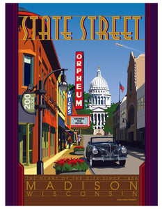 State Street (Painted and licensed by Tom Morrison)