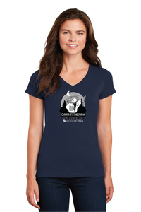 Madison Opera in the Park, Women's' V-neck Tee