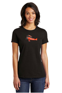 """I Heart MMoCA"", Women's Black Crew Tee"