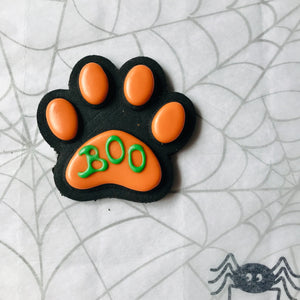 Halloween Dog Treats - BOO Paw