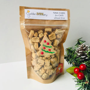 Christmas Cat Treats - Tuna Cat Cubes