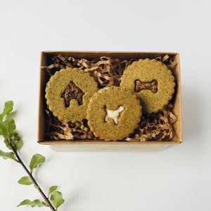 Golden Barkery Dog Biscuits - 3 Sandwich PupBiscuits
