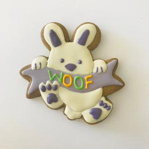 Golden Barkery Easter Dog Treats Personalised Dog Easter Bunny