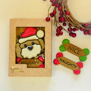 Christmas Dog Treats - Christmas Dog Biscuits Santa Paws Gifts
