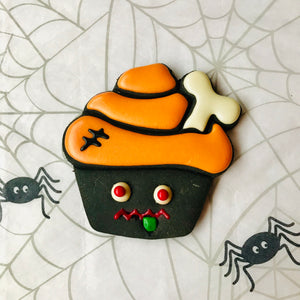 Halloween Dog Treats - Monster  Cupcake Dog Biscuit