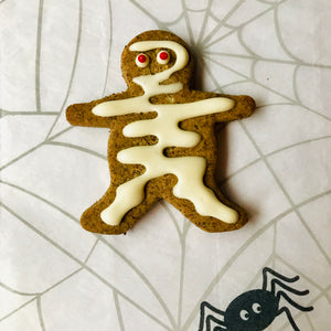 Halloween Dog Treats - Mummy Dog Biscuit
