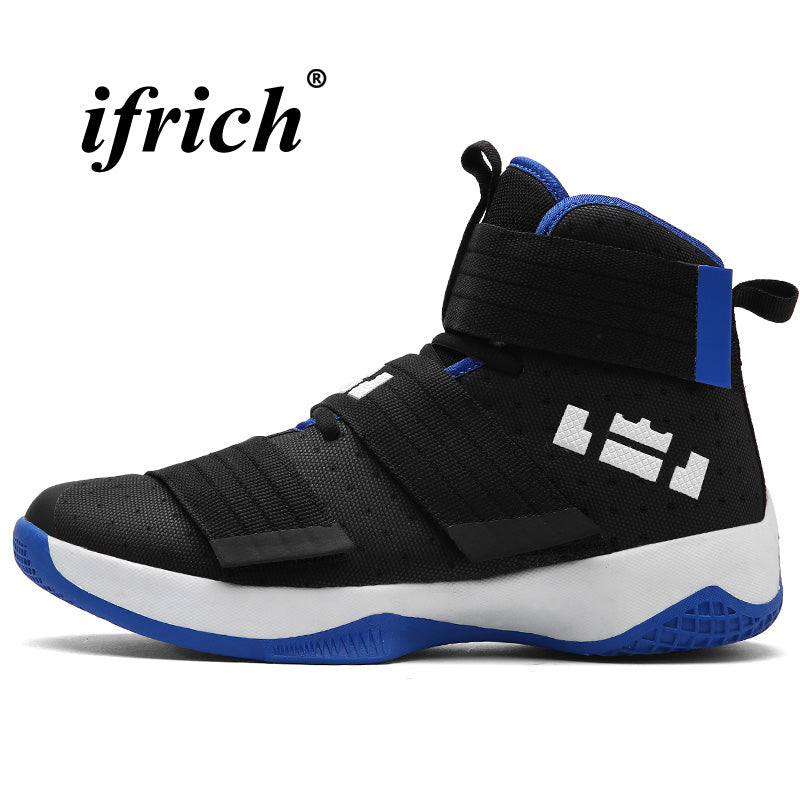 Basketball Shoes High Top Athletic Sneakers Male Anti-slip Shoes Gym Women  Damping Comfortable Basketball ... d64eea3469