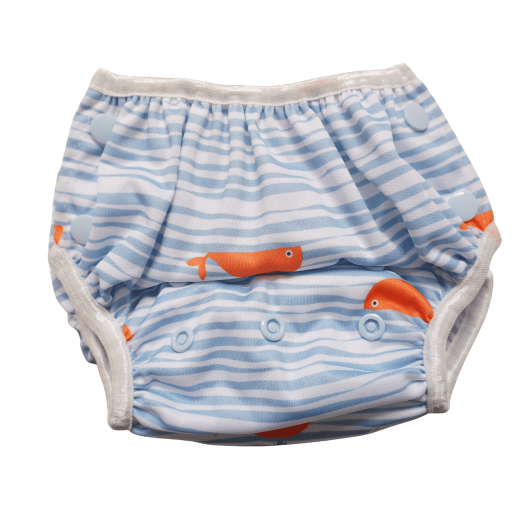Whale of a time V2 Swim Nappy