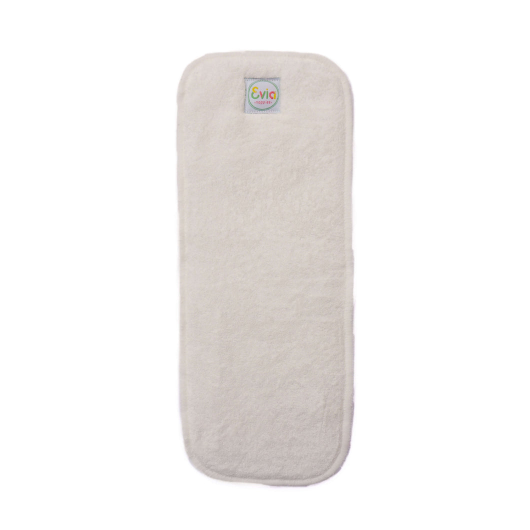 Reusable Bamboo Terry Nappy Inserts (Single)