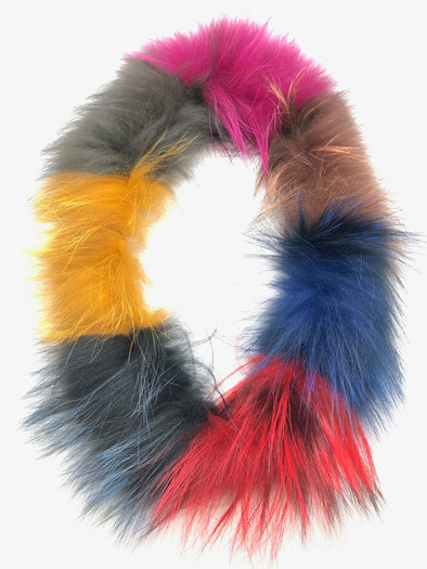 Fox Fur Scarf - Mixed