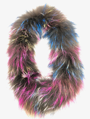 Fox Fur Scarf - Mingled