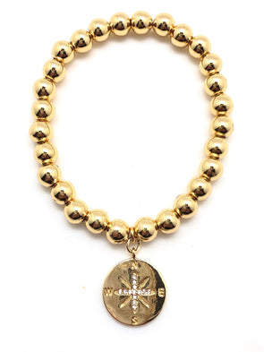 Gold Filled Compass Bracelet Bracelet