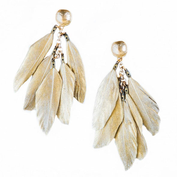 Feathers Gold 489