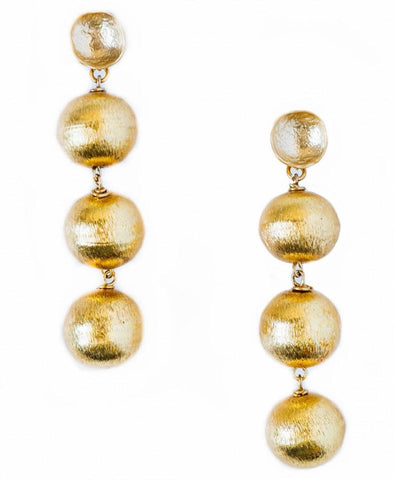Aphrodite Ball Earrings