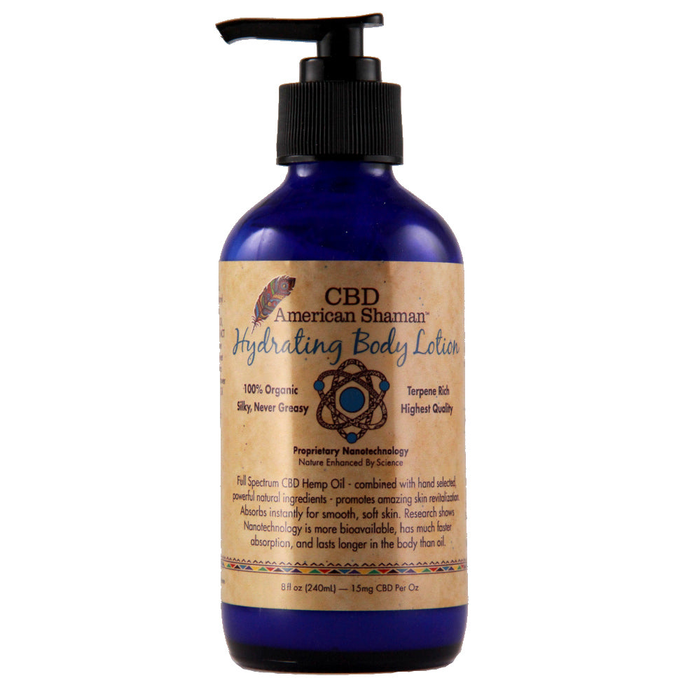 Hydrating CBD Body Lotion (Large)